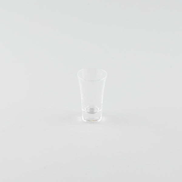 Tall Flare Glass Sake Cup
