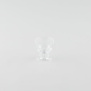 Flare Glass Sake Cup with Base
