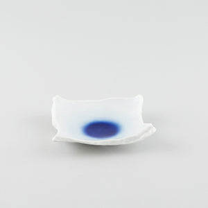 Royal Blue Sky- Artisan Square Dish