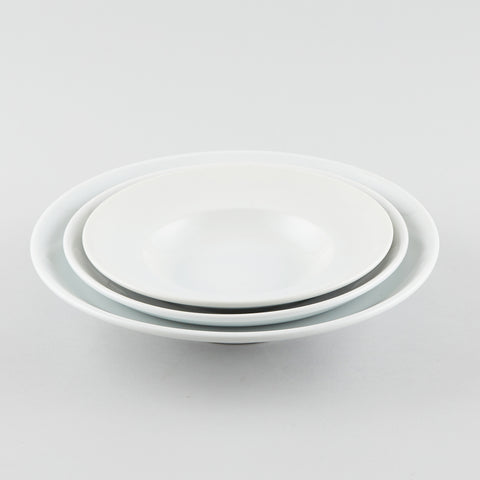 General Round Shallow Bowl with Rim 10 oz (M)