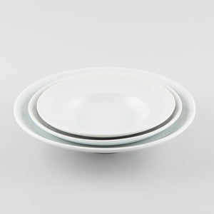 General Round Shallow Bowl with Rim 15 oz (L)