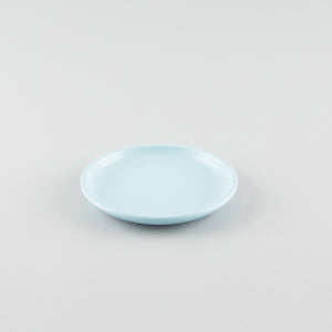 Round Coupe Side Plate - Blue  (S)