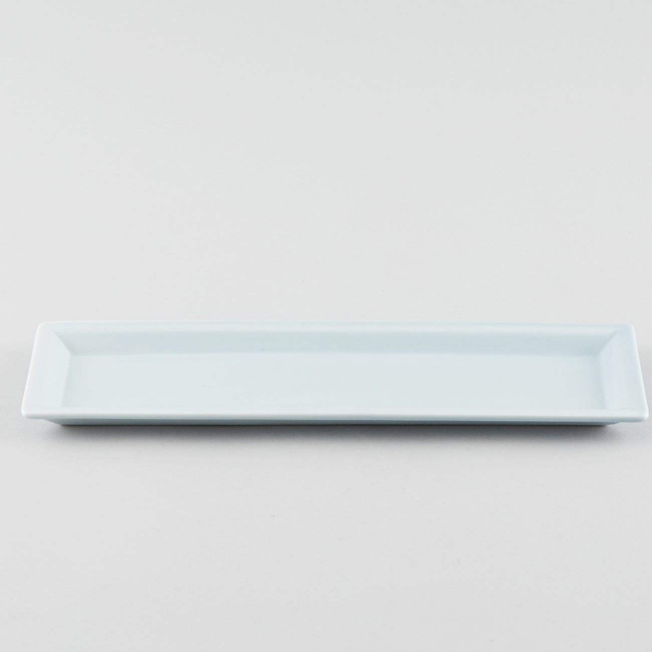 Narrow Rectangle Plate - Blue