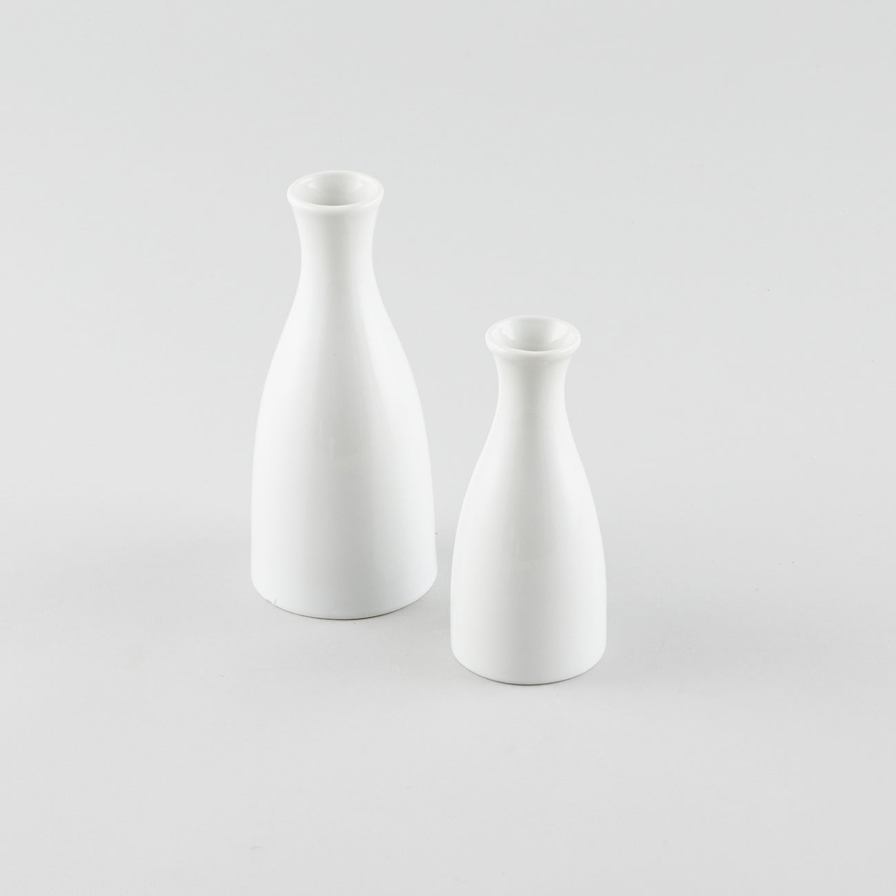 Sake Bottle - White (L) - Logo