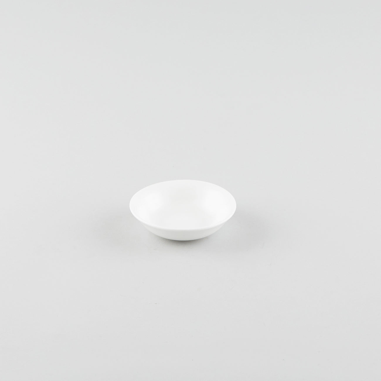 Finer Round Soy Sauce Dish - White