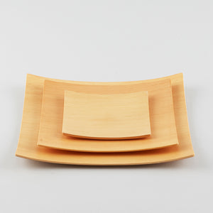 Gold Craft Plywood Square Dish M