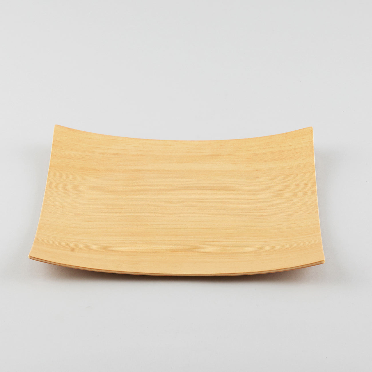 Gold Craft Plywood Square Dish L