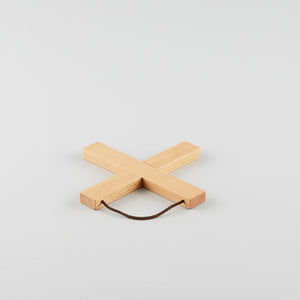 Wooden Cross Trivet