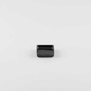 Single Square Sauce Dish - Black