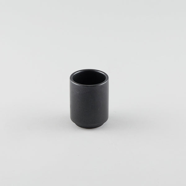Tea Cup - Black (M) - Logo