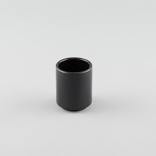 Tea Cup - Black (L) - Logo