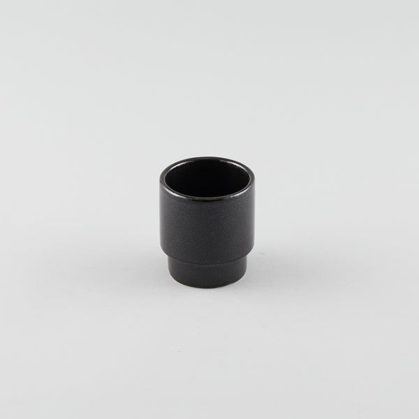 Stackable Cup Black - Logo