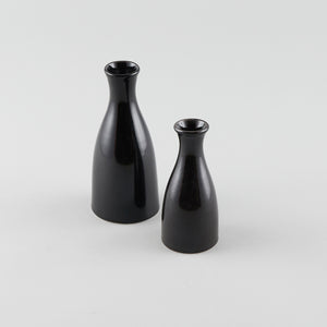 Sake Bottle - Black (S) - Logo