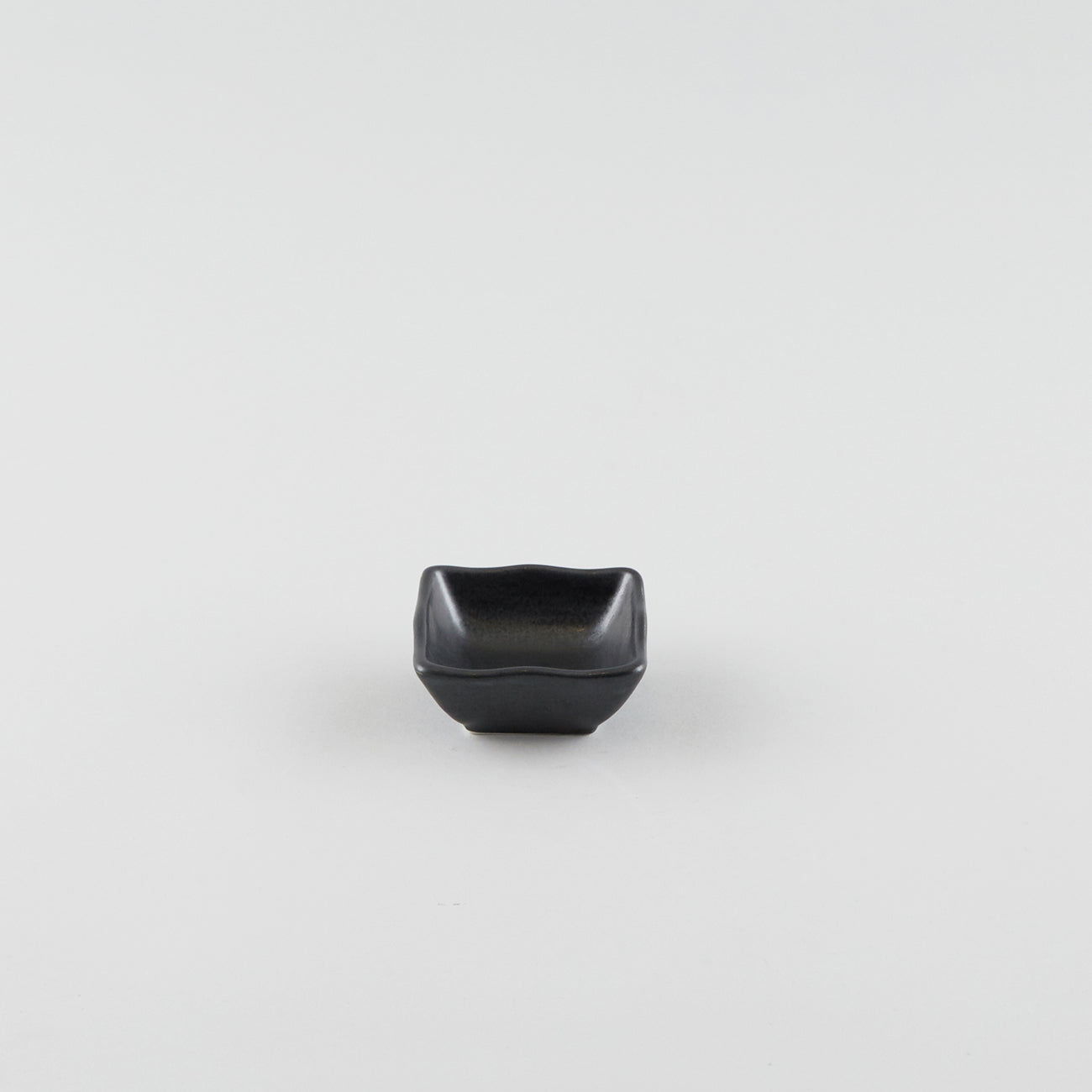 Wave Square Sauce Dish - Black