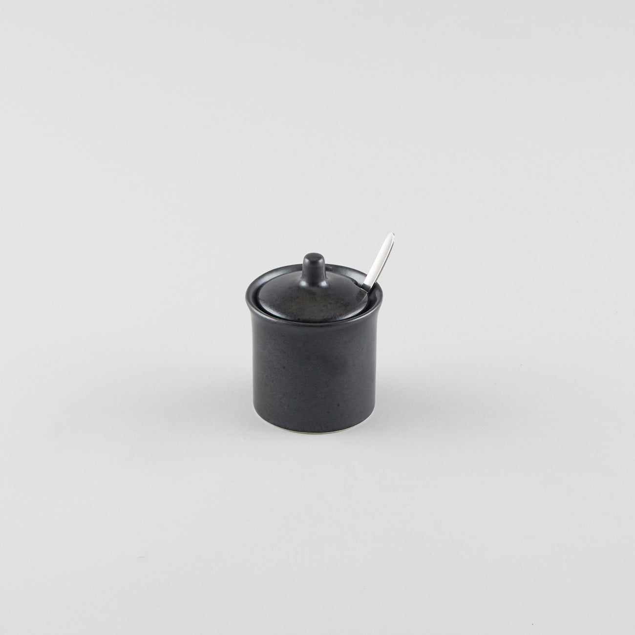 Chili Pepper/Sugar Pot Black (No Spoon)