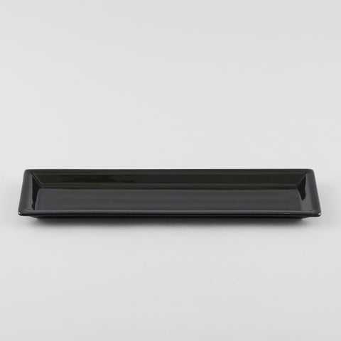 Narrow Rectangle Plate - Black