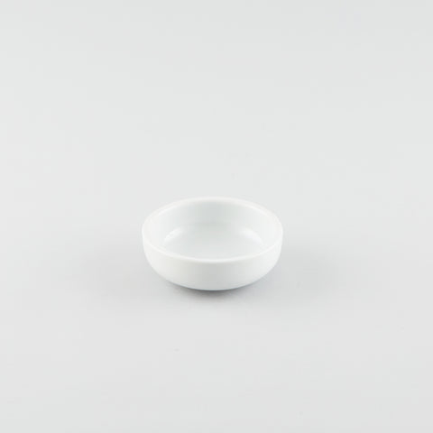Medium Size Shallow Sauce Dish - White