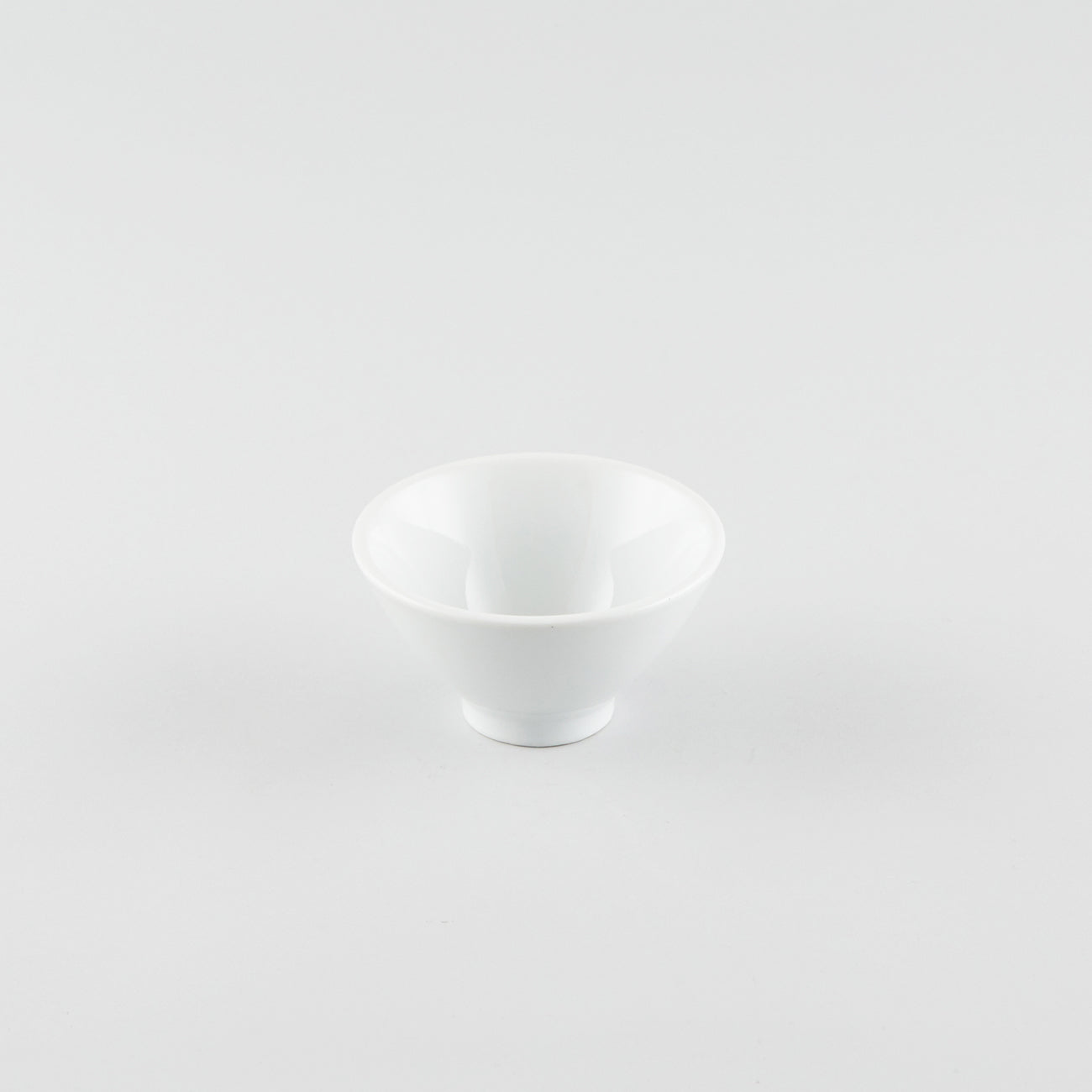 V-Shape Rice Bowl - White