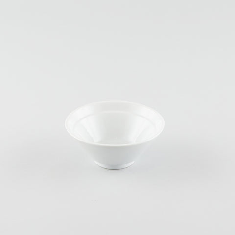 V-Shape Large Rice Bowl - White