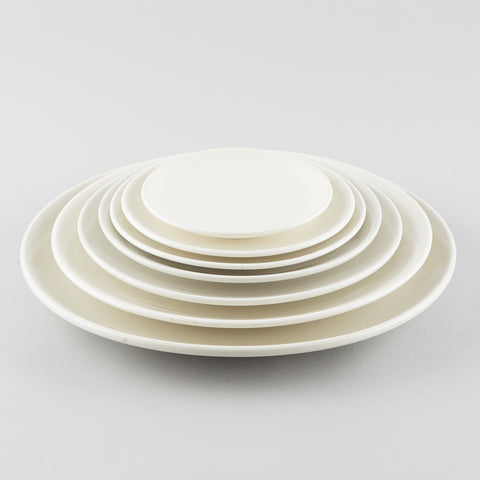 "Simplicity Round Plate - White (12"")"