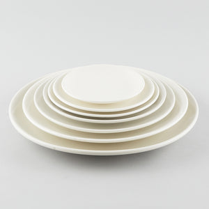 "Simplicity Round Plate - White (7"")"