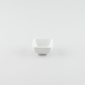 Rounded Square Bowl - White (S)