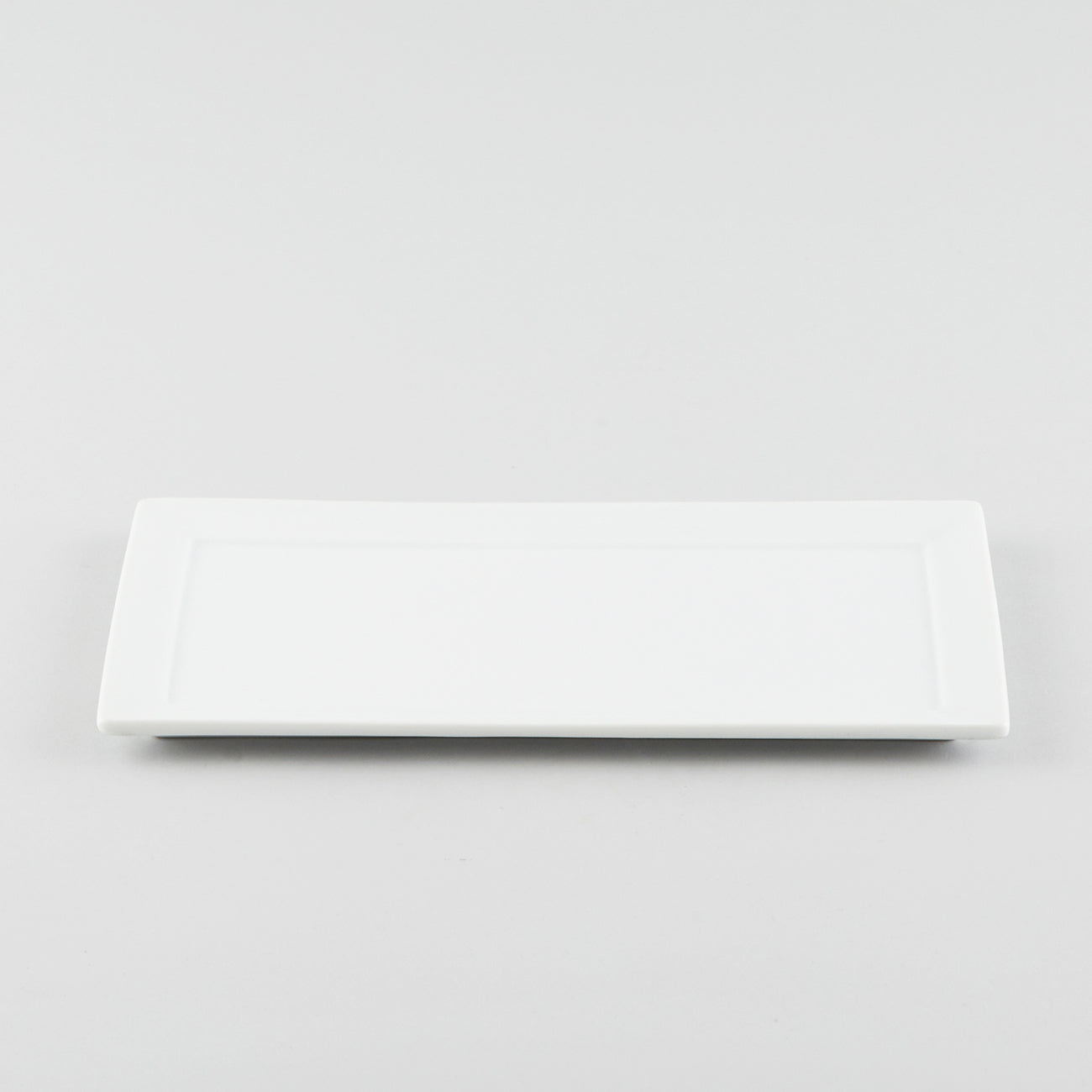 Rectangle Platter with Narrow Rim - White