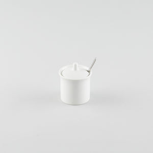 Chili Pepper/Sugar Pot White (No Spoon)