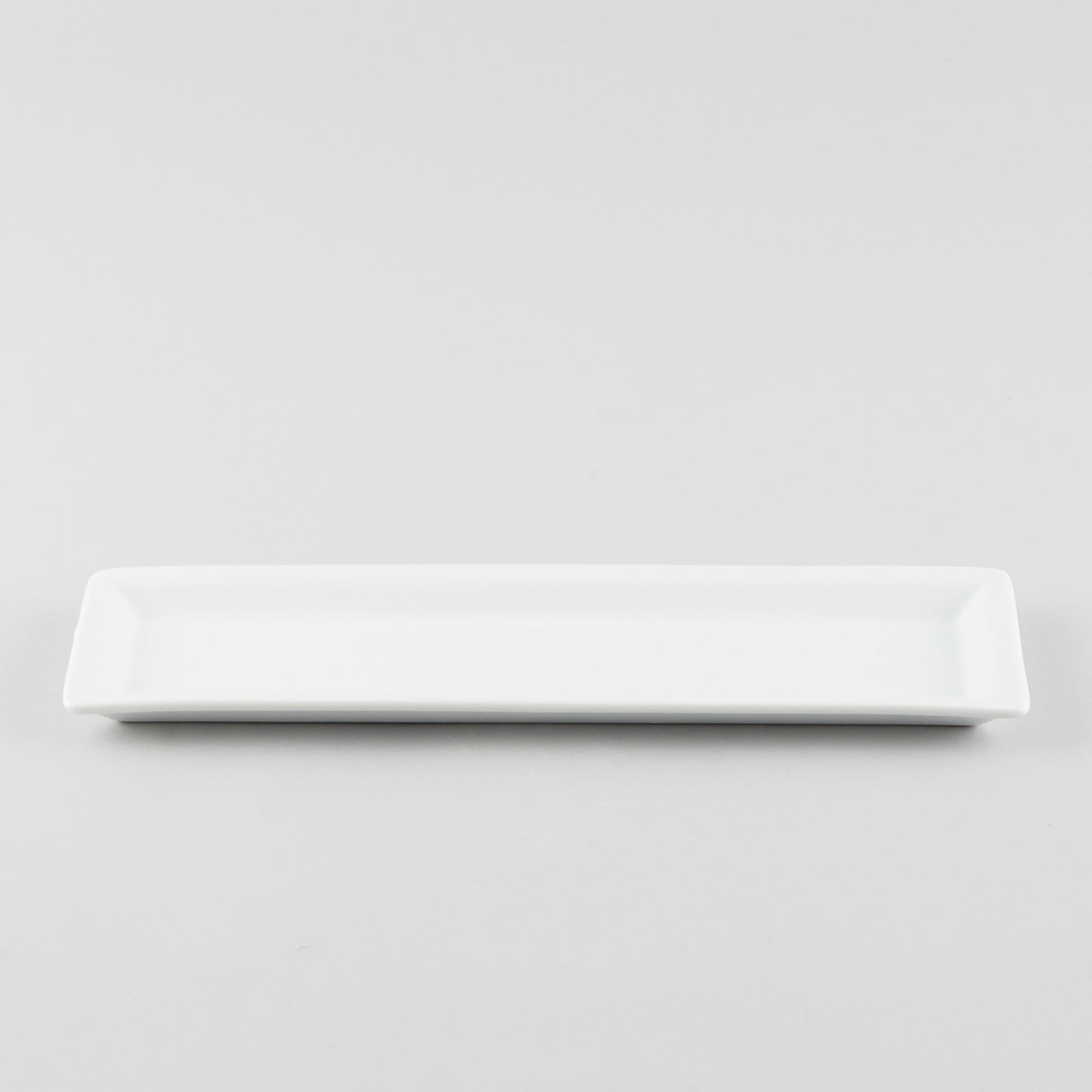 Narrow Rectangle Plate - White