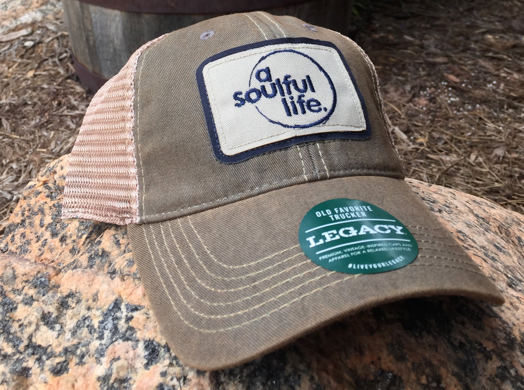 a soulful life Legacy Old Favorite Trucker hat