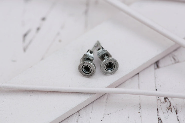 EARRING BASE SILVER