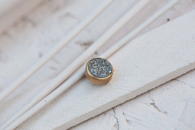 GREY DRUZY STONE 9MM BRONZE