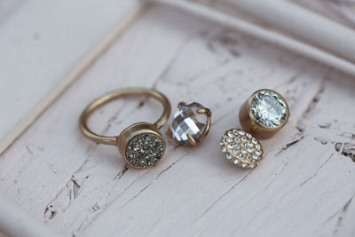 Ring set Sparkle 12mm