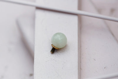 AQUAMARINE ROUND BEAD 8MM