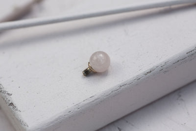 ROSE QUARTZ ROUND BEAD 6MM