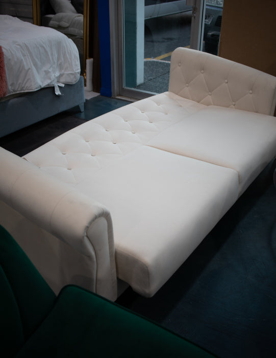 Ivory Sofa Bed