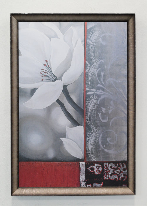 White Flower Painting
