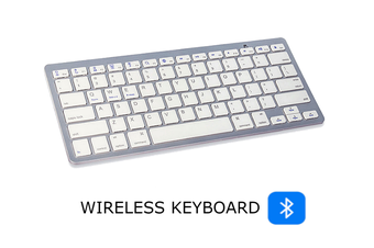 Dick Smith Platinum - Compact Wireless Keyboard