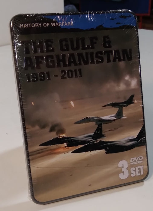 History of Warfare: The Gulf & Afghanistan 1991-2011 (3DVD set)