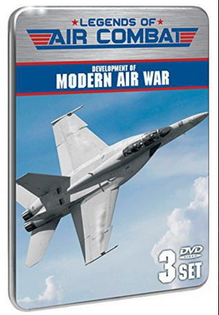 Legends Of Air Combat: Development Of Modern Air War (3 DVD set)