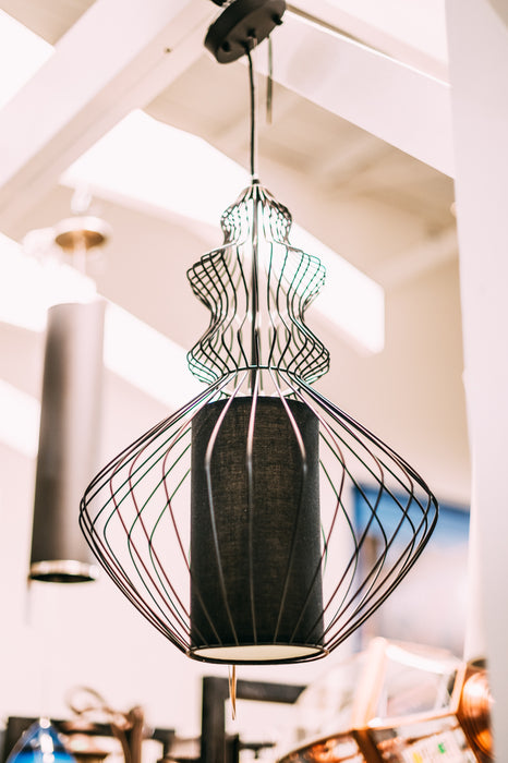 Wire Light Fixture