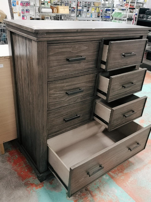 Rustic Reclaimed Wood Look Chest of Drawers