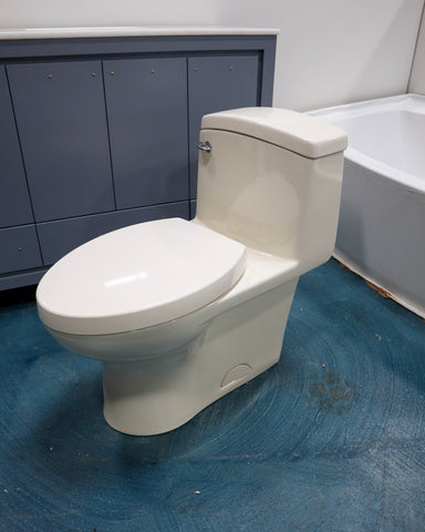 1-Piece Toilet (off-White)