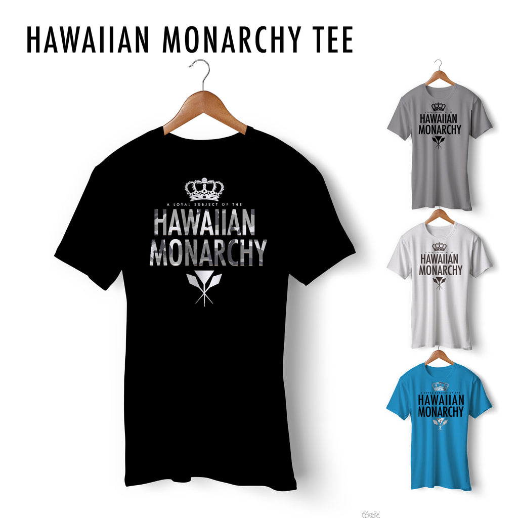 Hawaiian Monarchy Tee