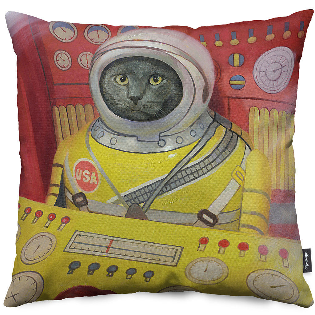 All Systems Go Throw Pillow