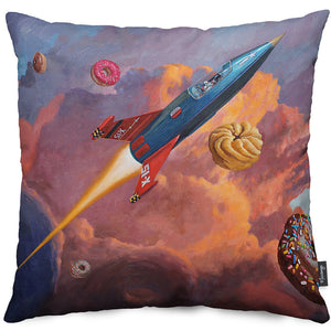 X-15 Throw Pillow