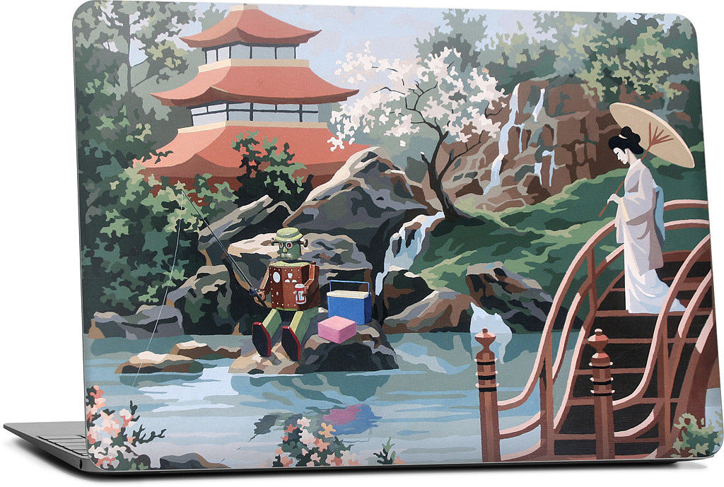 Tea Garden Laptop Skin