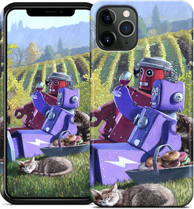 Vineyard Chill iPhone Case