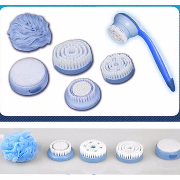SPIN SPA™ - 5 In 1 Electric body shower brush