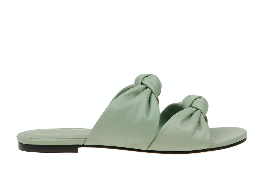 Isabelle Leather - Sage Green